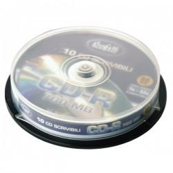 CD-R scrivibile - 700 MB - spindle da 10 - Silver
