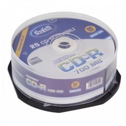 CD-R scrivibile - 700 MB - spindle da 25 - Stampabile inkjet