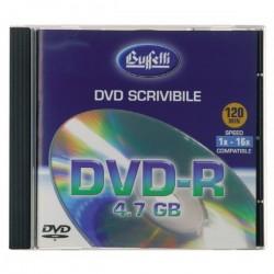 DVD-R scrivibile - 4,7 GB - jewel case - silver