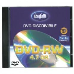 DVD-RW riscrivibile - 4,7 GB - jewel case - silver