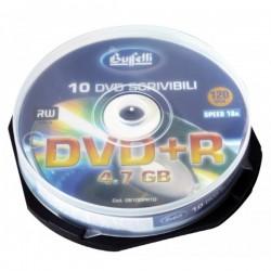 DVD+R scrivibile - 4,7 GB - spindle da 10 - silver