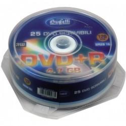 DVD+R scrivibile - 4,7 GB - spindle da 25 - silver