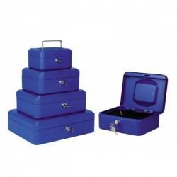 Cassette portavalori in metallo - 15 x 11 x 8 cm - Buffetti