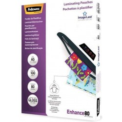 Pouches per plastificatrici - A5 - 80 microns - Fellowes