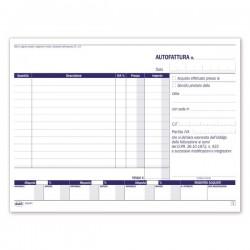 Autofatture IVA - 14,8 x 21,5 cm - duplice copia - Buffetti