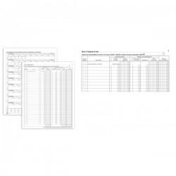 Registro beni ammortizzabili - 45 pagine - 31 x 24,5 cm