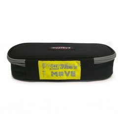 Eastpak Oval Black | Yellow Smemo