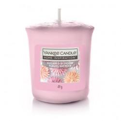 Yankee Candle Sugared Blossom Votive con Vasetto